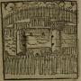 """Gravura em Staden, 1557 - """"Figura das cabanas"""""""
