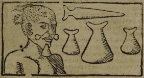Gravura em Staden, 1557